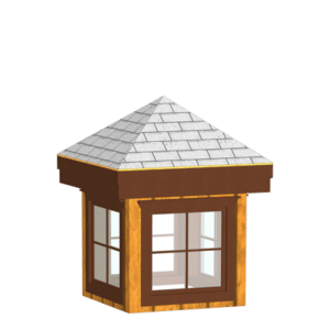 DC Structures Cupola with Windows
