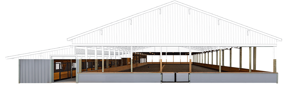 Canyon Arena Amp Stables Kit Covered Riding Arena Kit Dc
