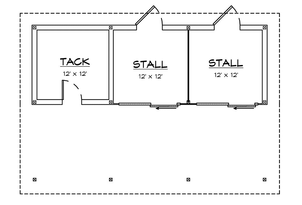 DC Structures Pendleton 36 Floor Plan Floor 1