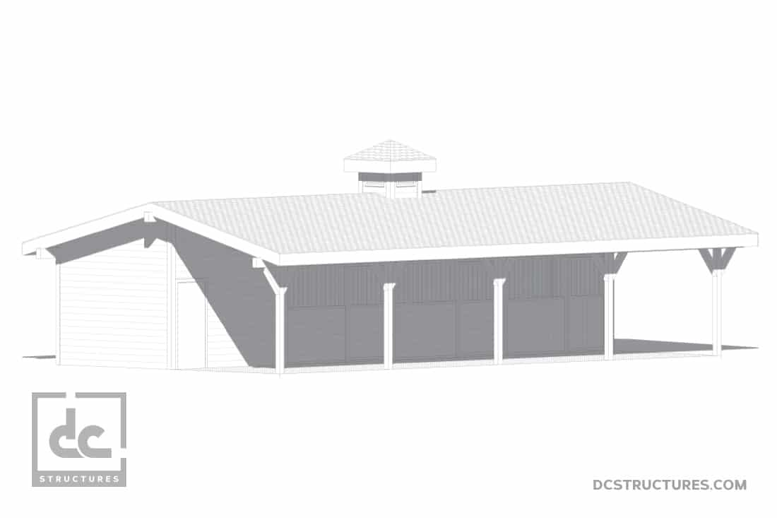 DC Structures Pendleton 48 Front Rendering