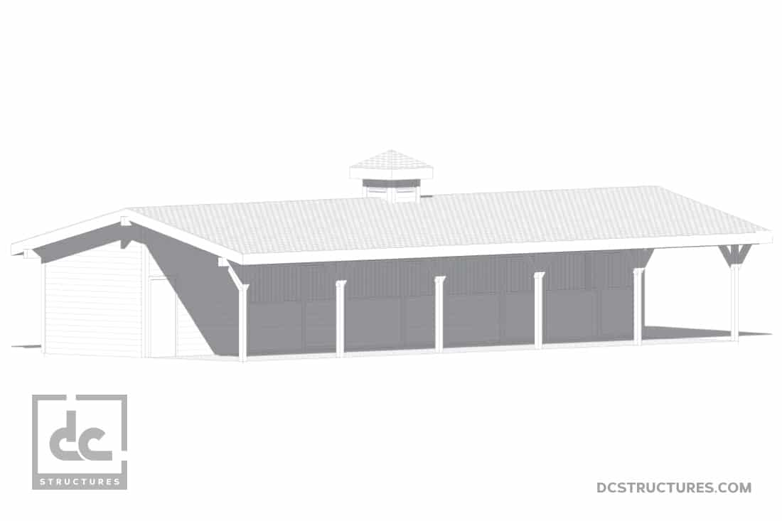 DC Structures Pendleton 60 Front Rendering