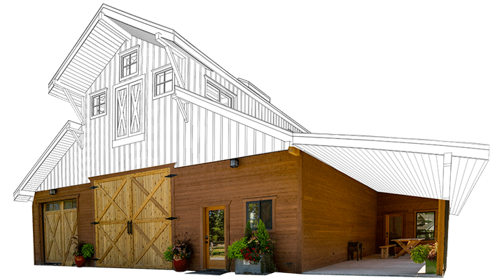 Barn Kit Rendering