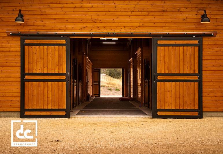 Oakridge Apartment Barn Kit Wood Barn Home Kit Dc