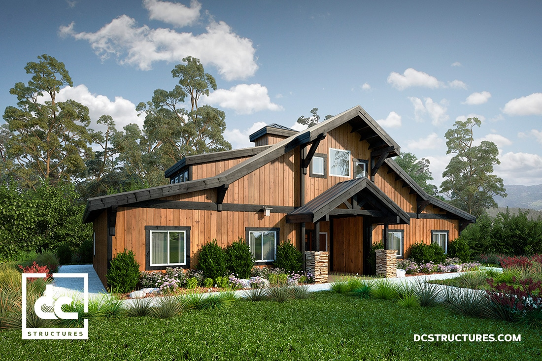 Enjoyable Barn Home Kits Dc Structures Download Free Architecture Designs Rallybritishbridgeorg