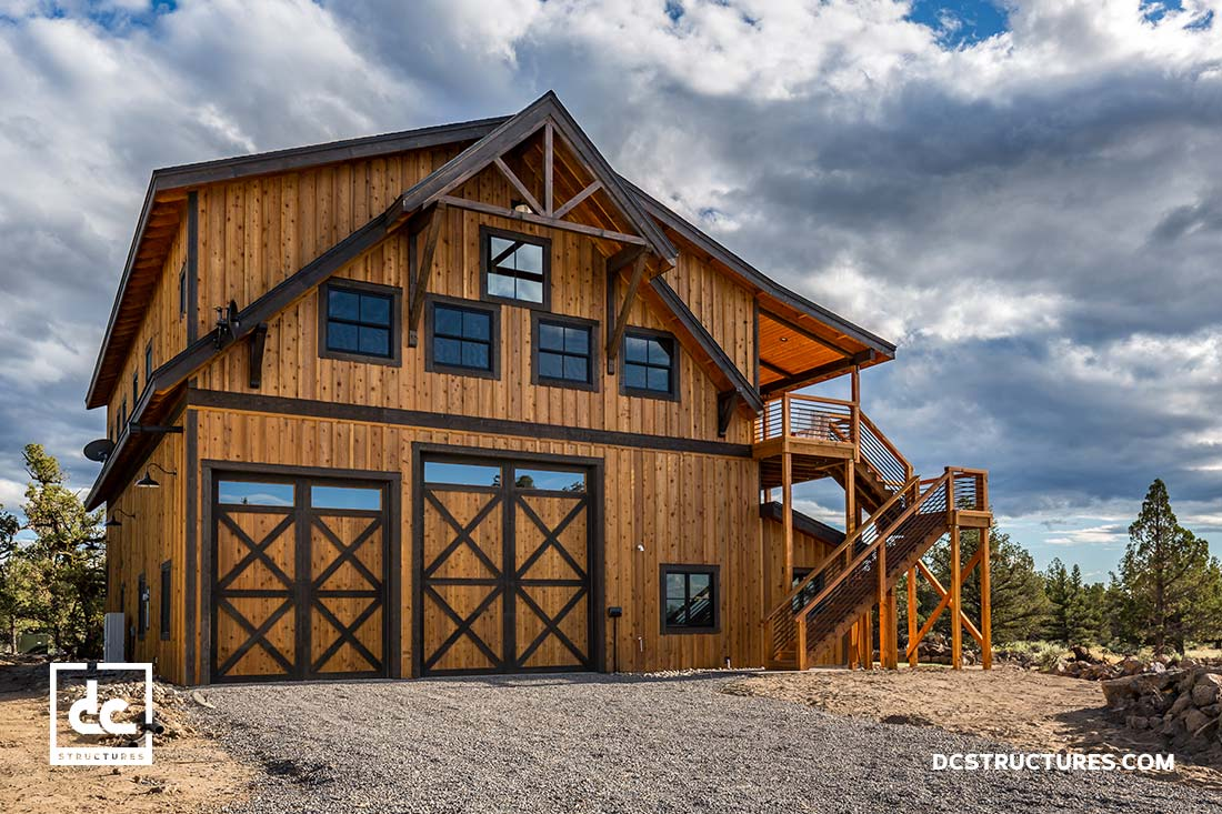96 barn style home kits the oakridge is our most for Best barn designs