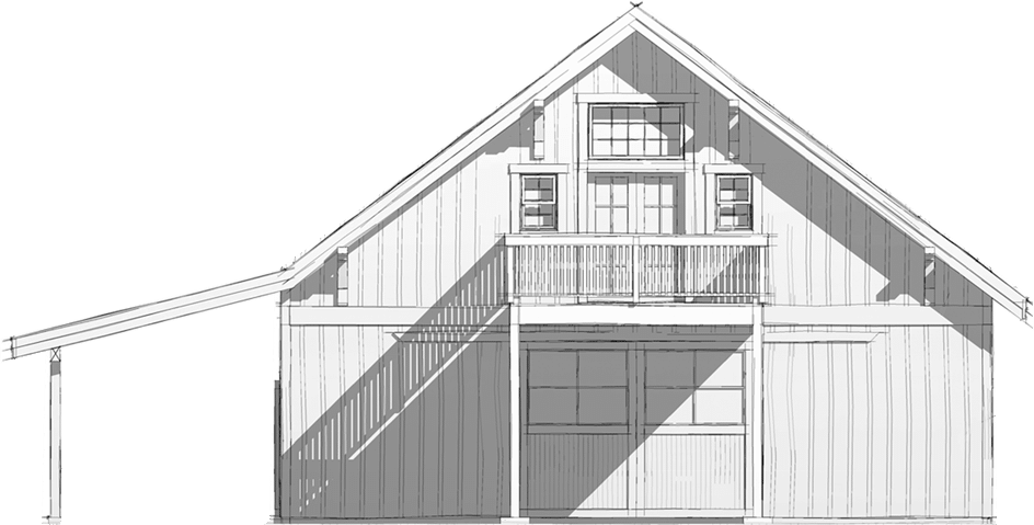 Custom Party Barn Kit in Oregon - DC Structures