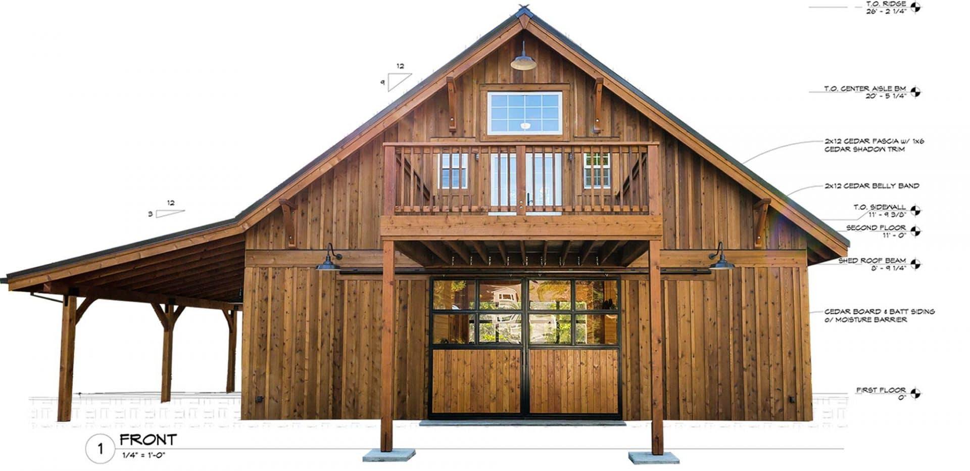 Diy post and beam barn kits diy do it your self for Post and beam barn home kits