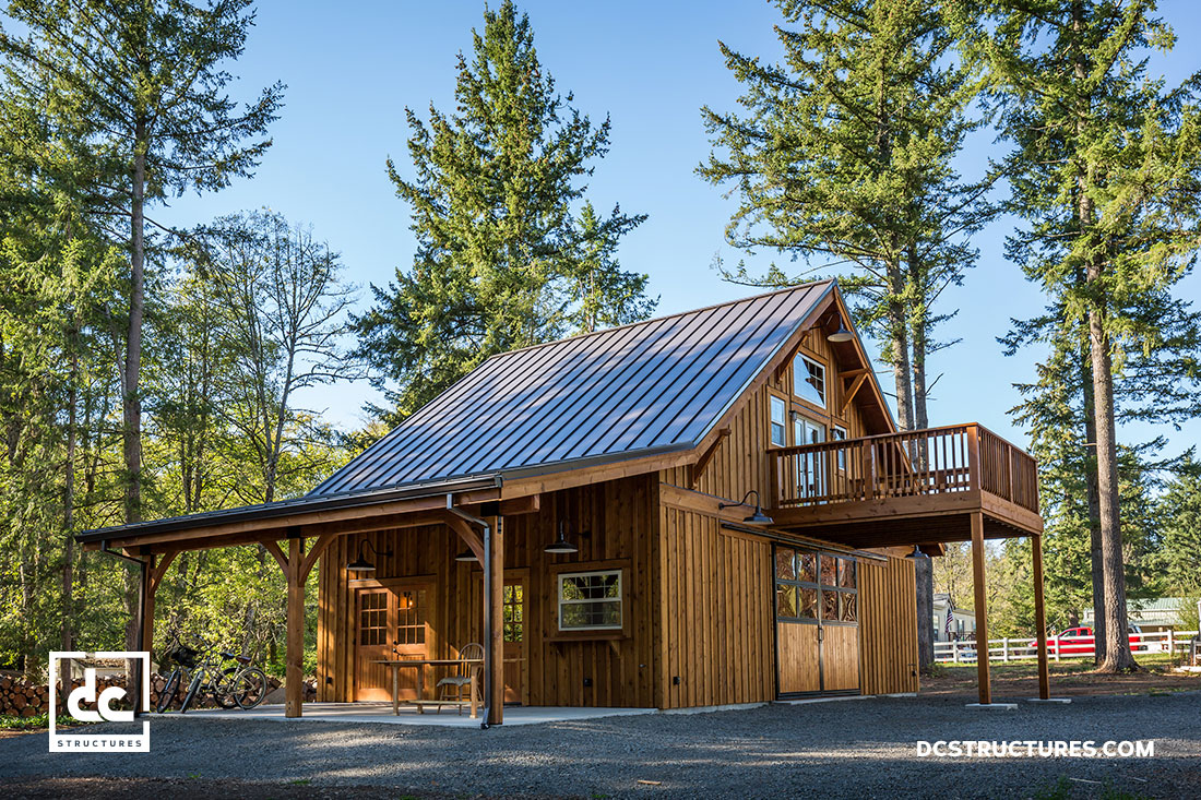 Custom Party Barn Kit In Oregon Dc Structures