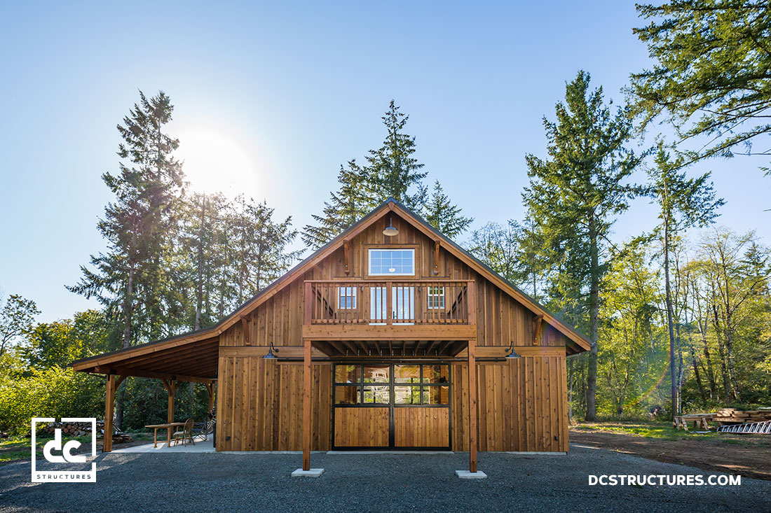Custom Party Barn Kit In Oregon