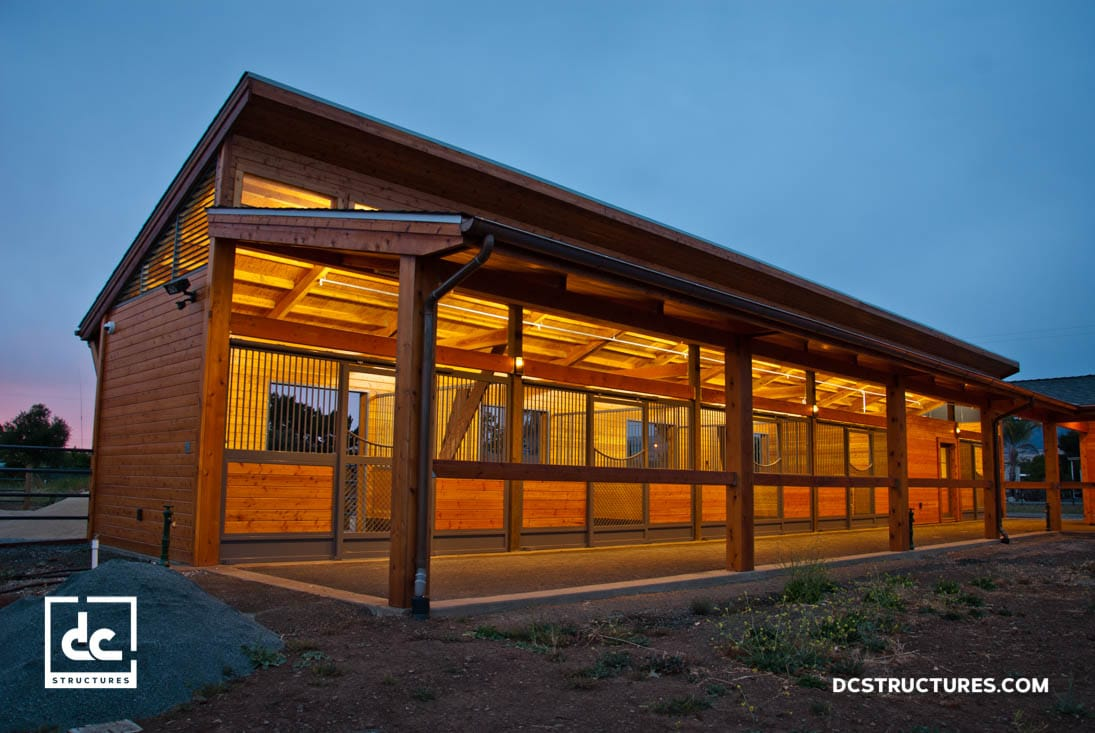 California Horse Barn Kits Dc Structures