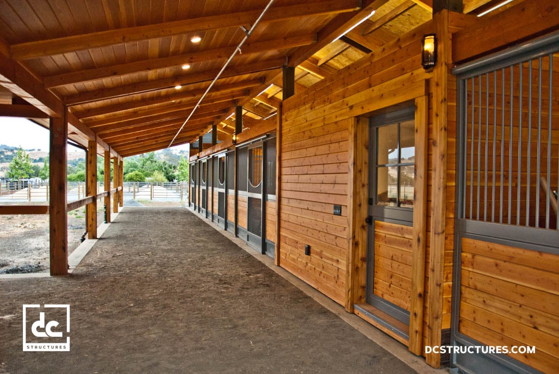 San Martin California Clerestory Barn Kit Dc Structures