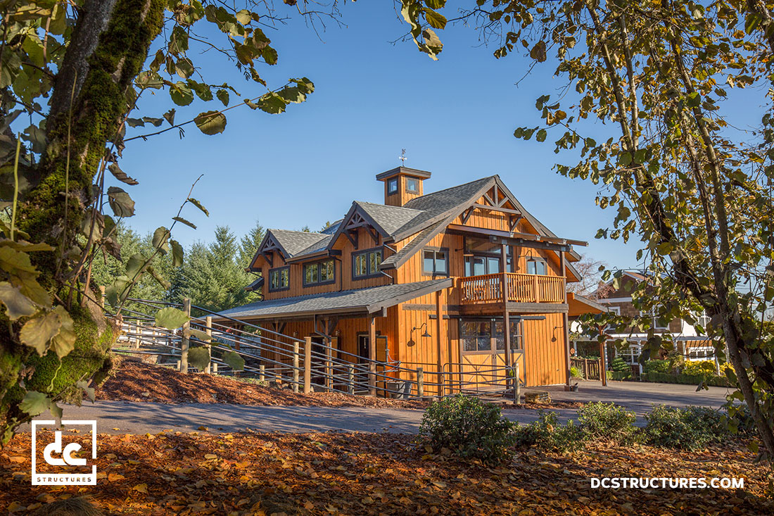 Stupendous Oregon Barn Kit Builder Dc Structures Home Remodeling Inspirations Genioncuboardxyz
