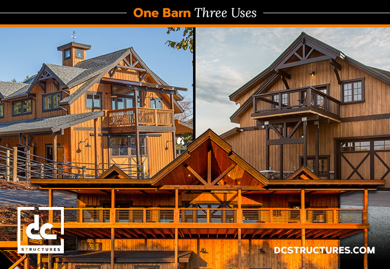 Oakridge Apartment Barns: One Kit, Three Uses | DC ...