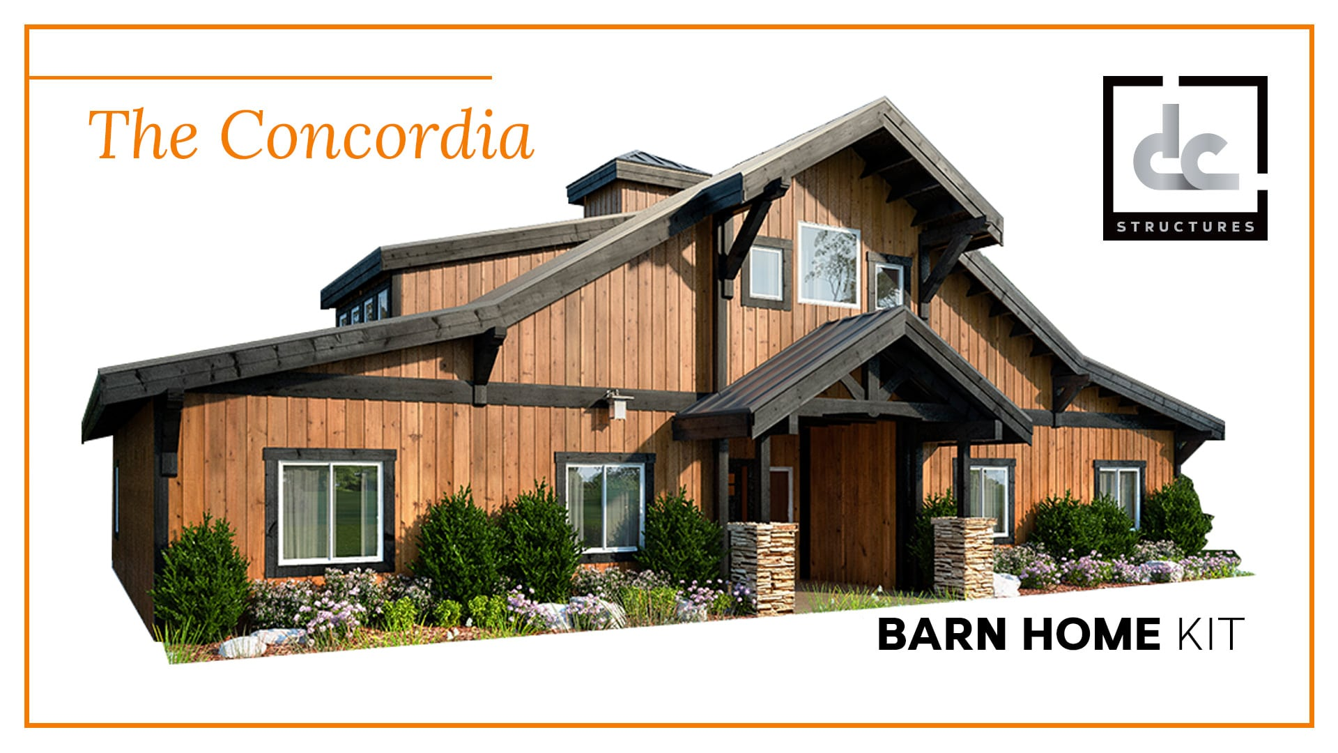 Barn home kits dc structures - American style mobel ...