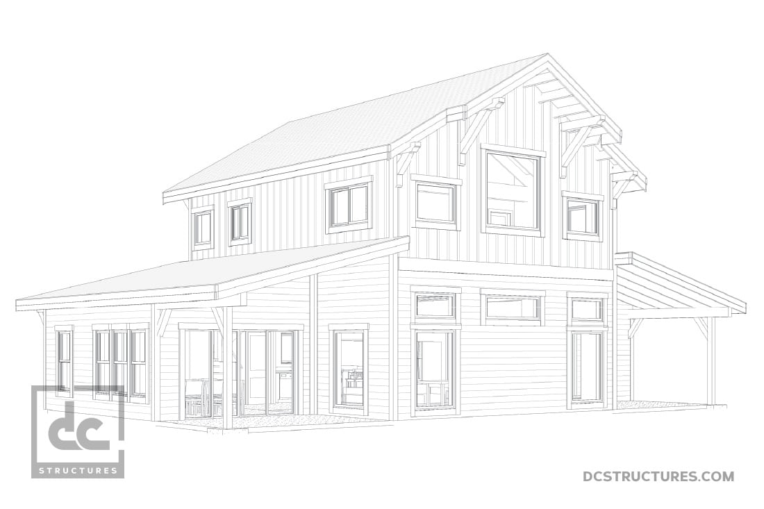 Barn Home Kits - DC Structures
