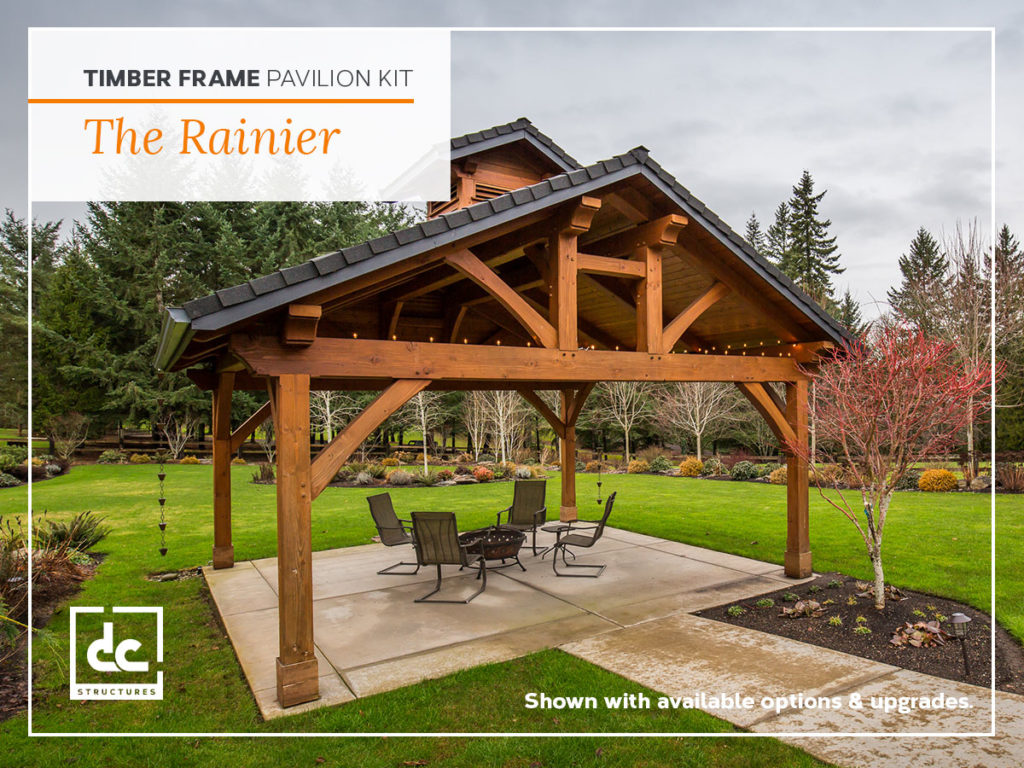 Timber Frame Pavilion Kits Outdoor Living Dc Structures