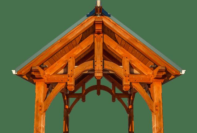 Hammerbeam Timber Frame Pavilion Kit Dc Structures