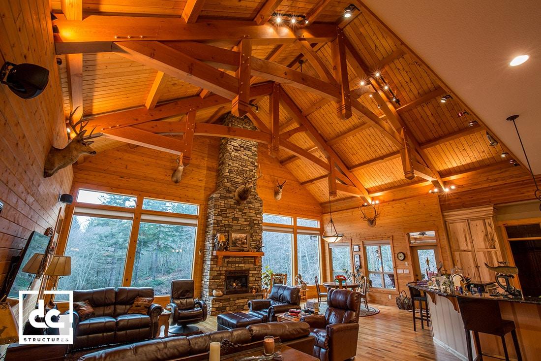 Timber Frame Pavilion Kits - Outdoor Living - DC Structures