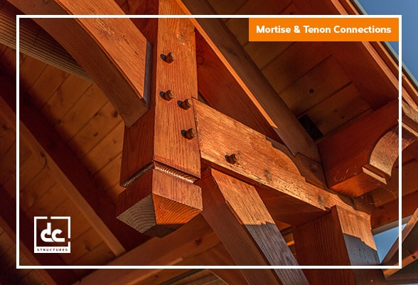 Summit Timber Frame Pavilion Kit Hammerbeam Trusses Dc