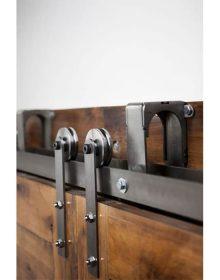 Standard Bypassing (2-door) Door Tracks & Barn Doors \u0026 Hardware - Store - DC Structures