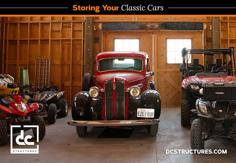 classic car collection storage