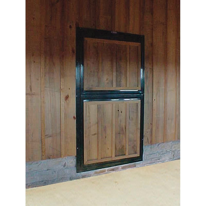 Dutch Door W Wood Fill Top Bottom Doors