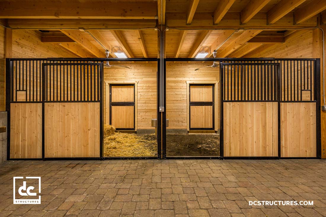Horse Barn Kits Dc Structures