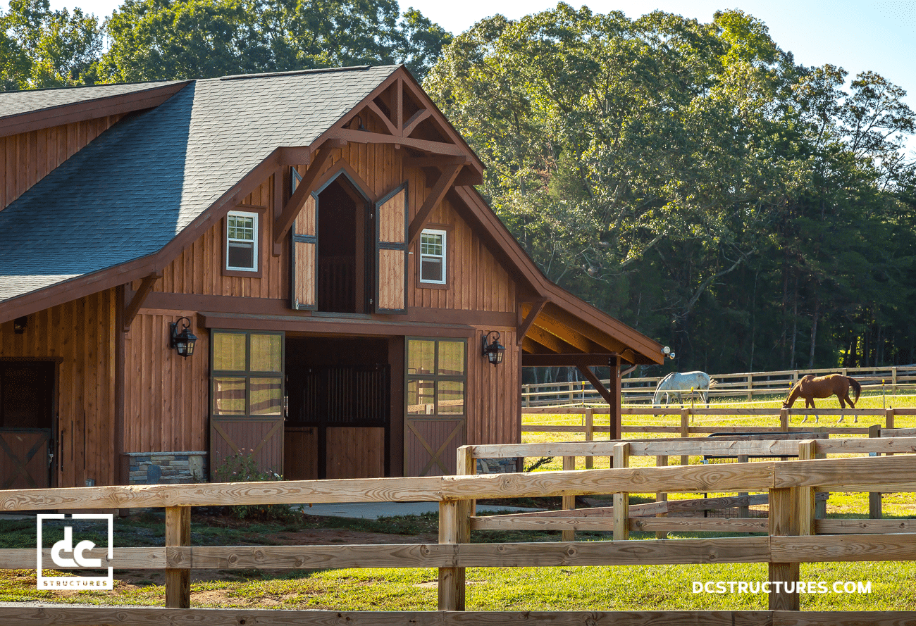 barns example sand horse home homes designed kit pre kits wood gambrel predesigned barn exterior products creek