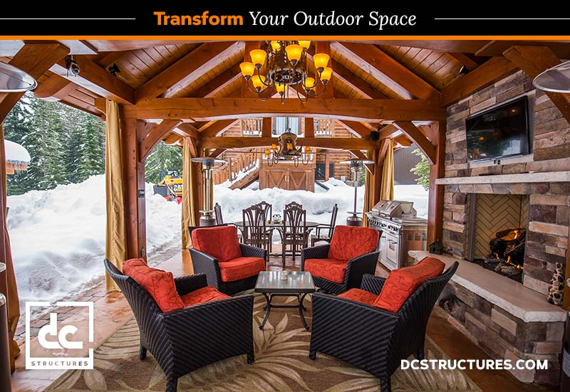 Level Up With A Timber Frame Pavilion Kit | DC Structures Blog