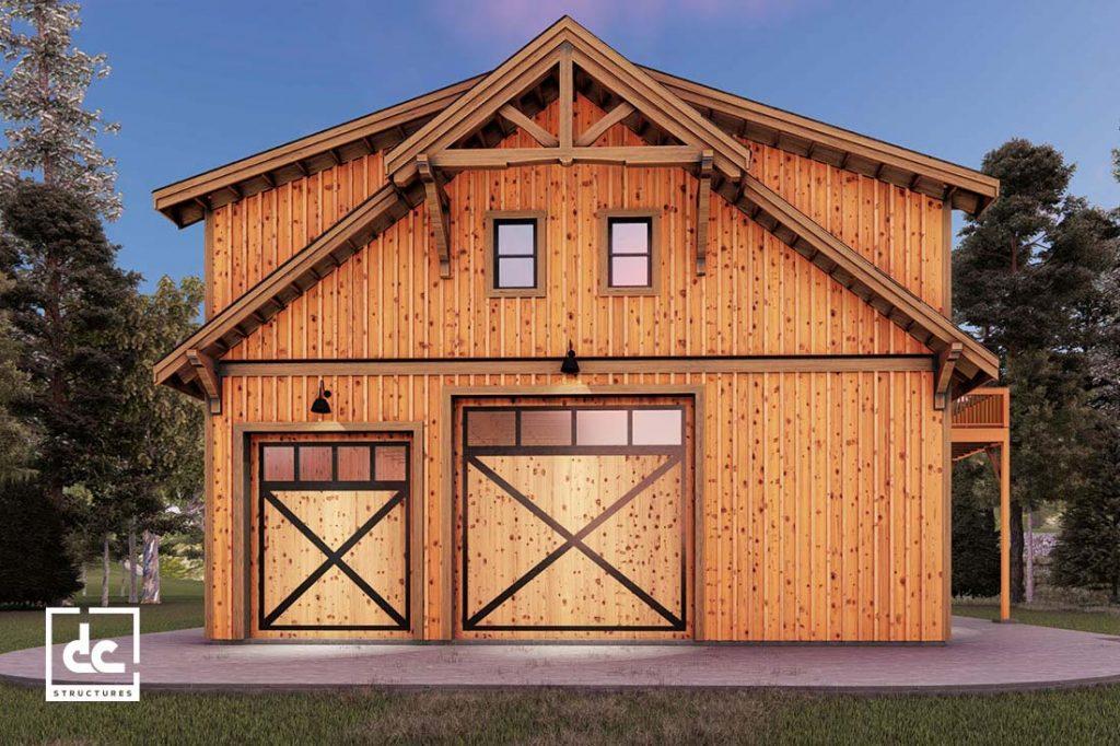 Shasta Rv Barn Kit 56 Garage With Living Quarters Kit