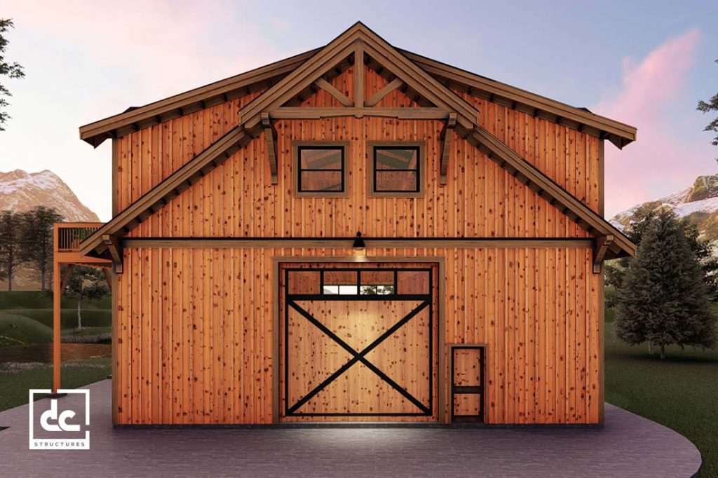 Shasta Rv Barn Kit 42 Garage With Living Quarters Kit