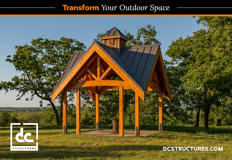 Level Up With A Timber Frame Pavilion Kit