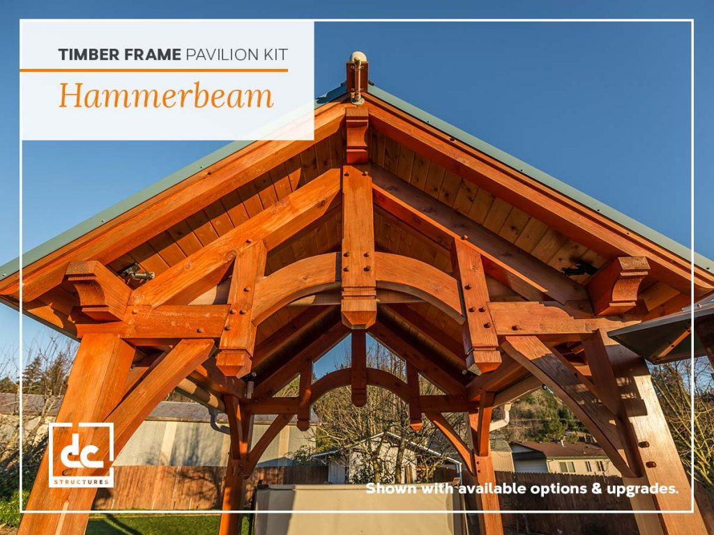 Timber Frame Pavilion Kits - Outdoor Living - DC Structures