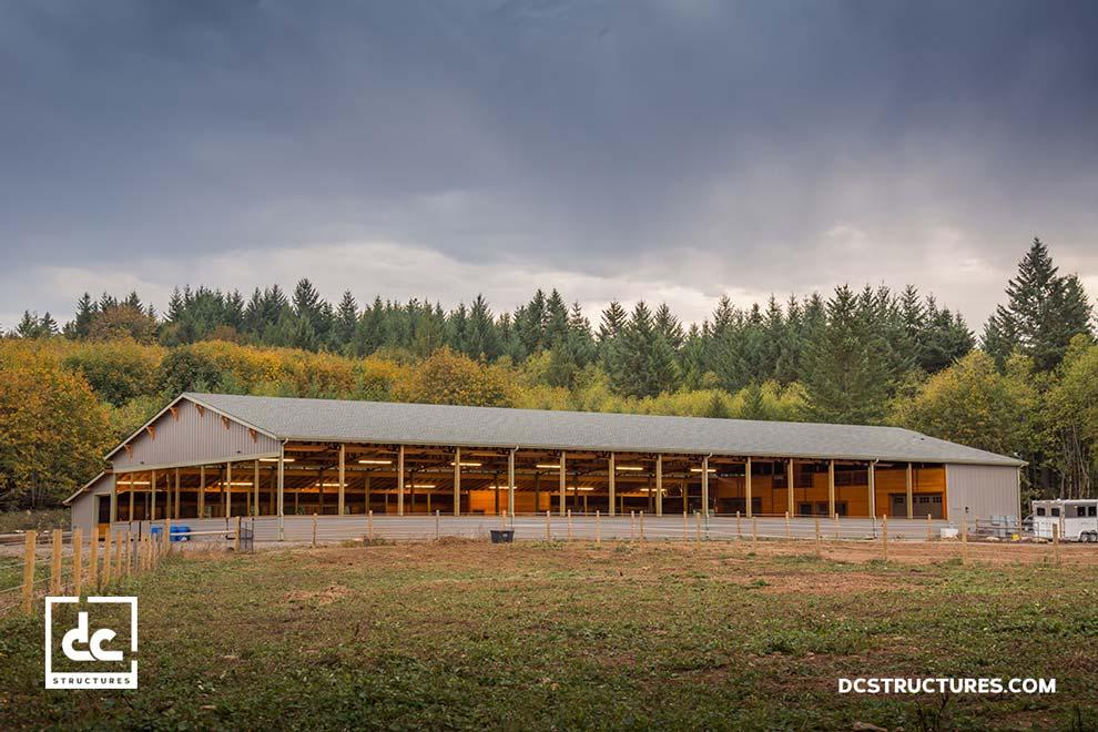 Oregon City Covered Riding Arena