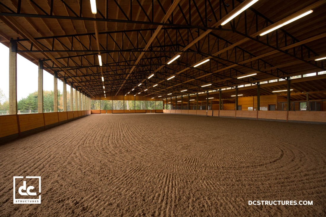 Horse Arena Kits Covered Indoor Riding Arenas Dc Structures