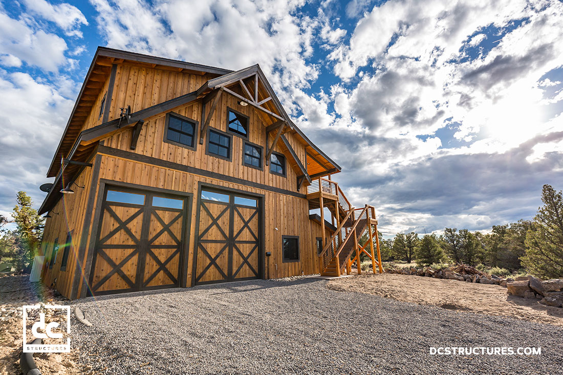 Central Oregon Barn Home Dc Structures
