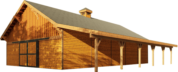 Columbia Gable Barn Kit