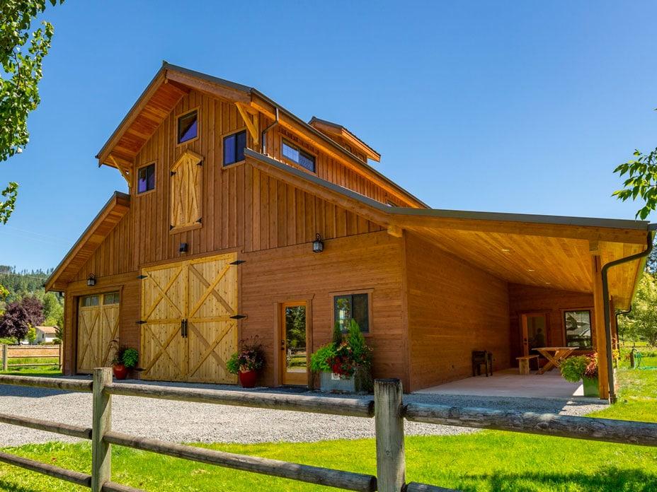Barn Home Kits, Horse Barn Kits, & Arenas - DC Structures