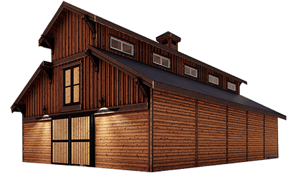 Powell Monitor Barn Kit