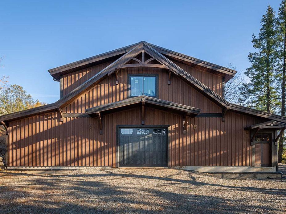 Oregon Wine Country Barn Home