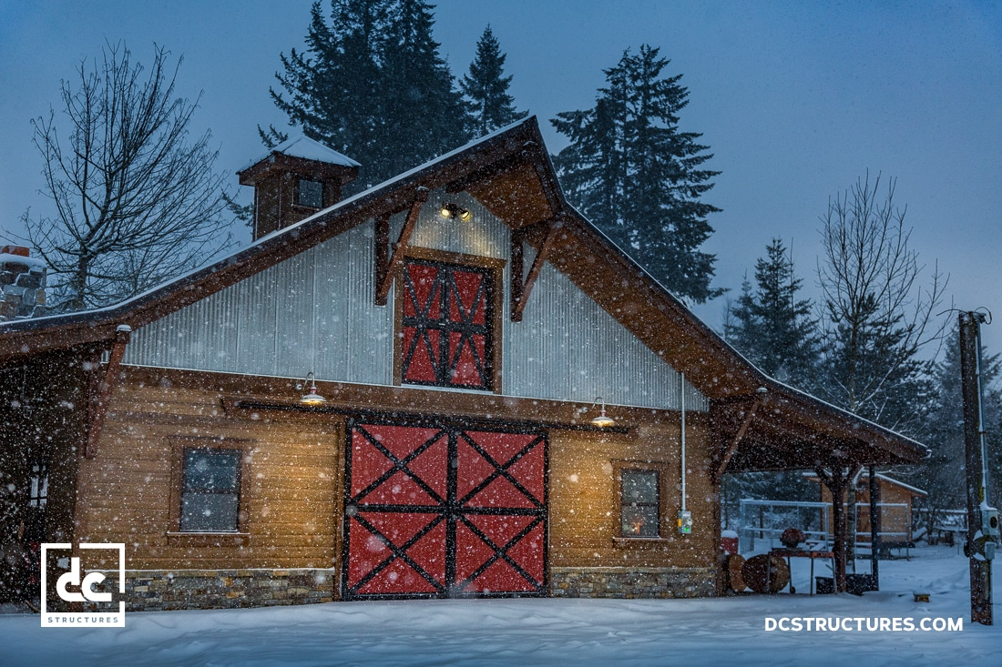 Oregon Gable Barn Kit