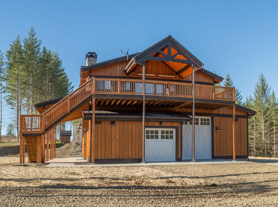 Oregon Garage With Living Quarters