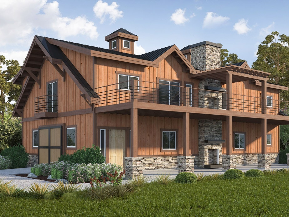 Tennessee Barn Home Kit