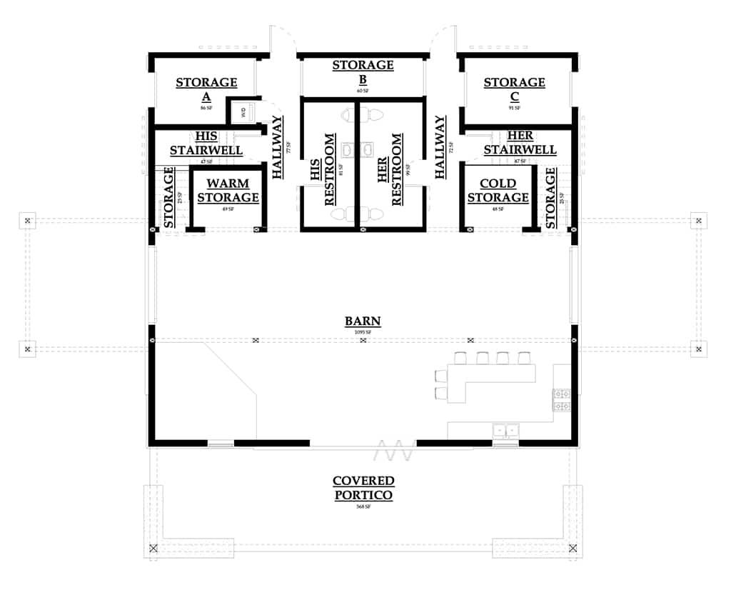 diagram of bunkhouse north carolina bunkhouse barn dc structures  north carolina bunkhouse barn dc
