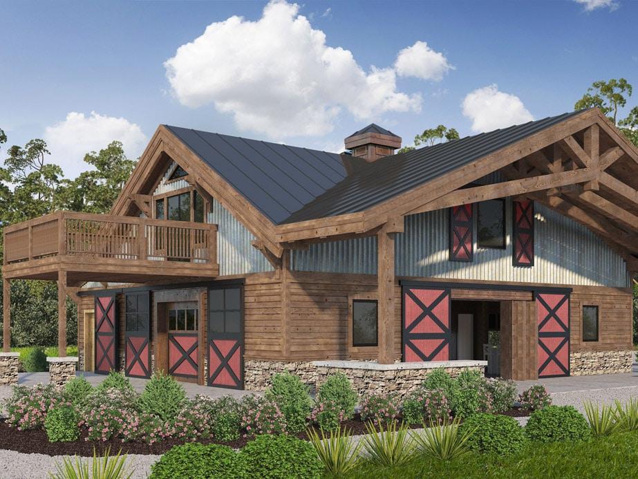 North Carolina Bunkhouse Barn