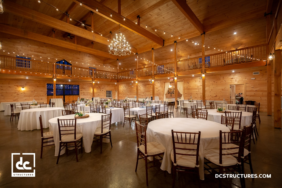 Wedding Barn Kits & Barn Event Venues - DC Structures