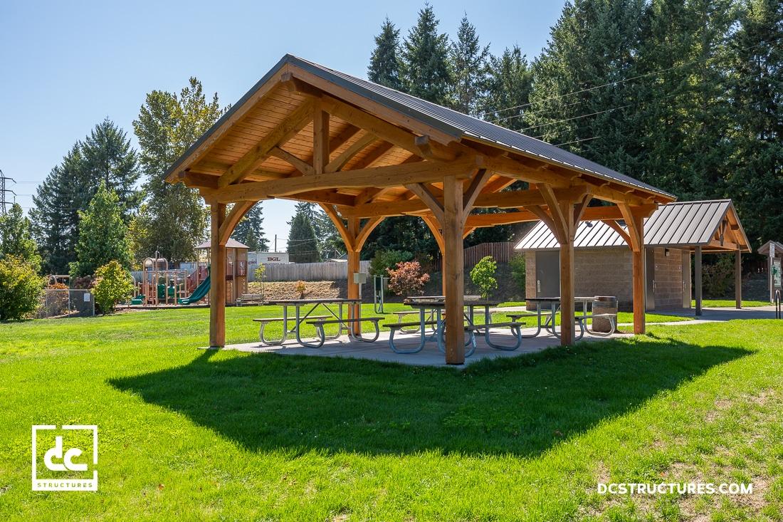Public Park Pavilion