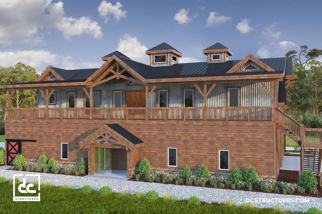 North Carolina RV Barn Home