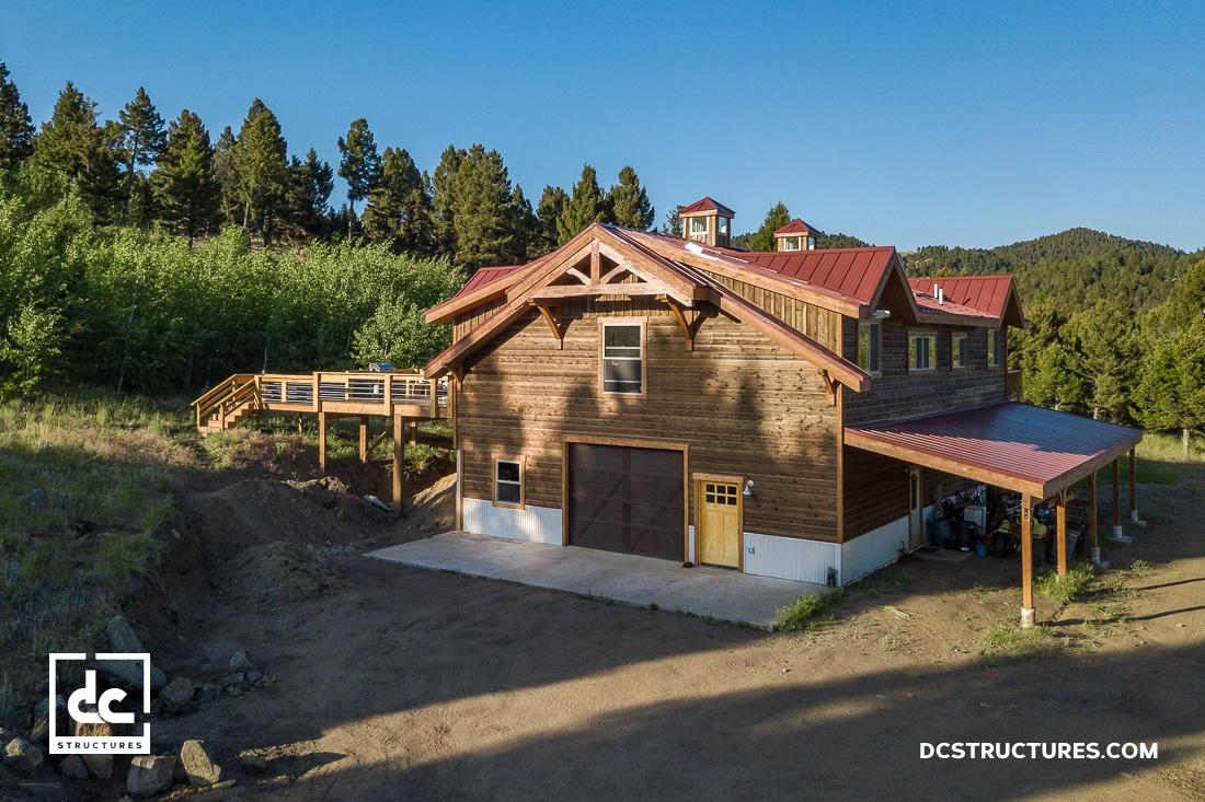 Montana Barn Home