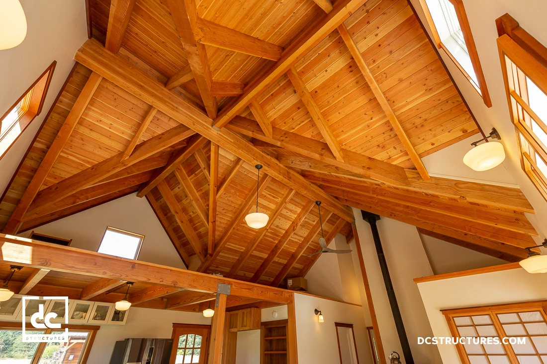 Cabin Kits Post Beam Wood Cabin Designs Dc Structures